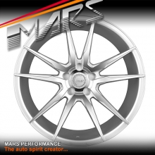 MARS MP-RH Silver 4x 22 Inch Under Cut Multi-Spork Alloy Wheels Rims 5x130