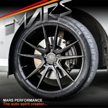 MARS MP-RH Matt Black 4x 22 Inch Under Cut Multi-Spork Alloy Wheels Rims 5x130