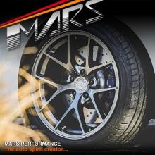 MARS MP-RI 19 Inch Hyper Black Stag Alloy Wheels Rims 5x114.3