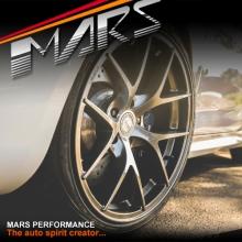 MARS MP-RI 19 Inch Hyper Black Stag Alloy Wheels Rims 5x112
