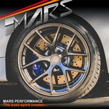 MARS MP-RI 19 Inch Hyper Black Stag Alloy Wheels Rims 5x120