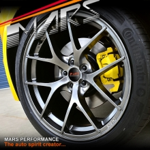 MARS MP-RI 19 Inch Hyper Black Stag Alloy Wheels Rims 5x120