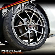 MARS MP-RI 19 Inch Hyper Black Stag Alloy Wheels Rims 5x114.3