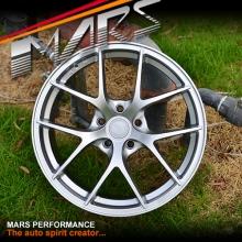 MARS MP-RI 19x8.5 Inch ET35 Hyper Silver Alloy Wheels Rims 5x112 for AUDI Mercedes VW