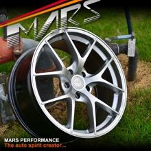 MARS MP-RI 19x8.5 Inch ET35 Hyper Silver Alloy Wheels Rims 5x120 for BMW & Commodore