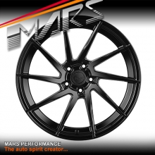 MARS MP-T2 Gloss Black 4x 20 Inch Twist Concave Stag Alloy Wheels Rims 5x120