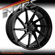 MARS MP-T2 Gloss Black 4x 20 Inch Deep Concave Stag Alloy Wheels Rims 5x112