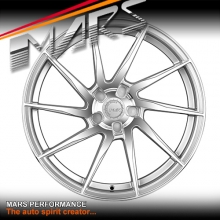 MARS MP-T2 Silver 4x 20 Inch Twist Concave Stag Alloy Wheels Rims 5x114.3