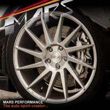 MARS MP-TW Silver 4x 19 Inch Twist Concave Stag Alloy Wheels Rims 5x112