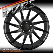 MARS MP-TW Gloss Black 4x 19 Inch Twist Concave Stag Alloy Wheels Rims 5x120