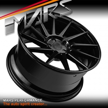 MARS MP-TW 19 inch Gloss Black 4x 19 Inch Twist Concave Stag Alloy Wheels Rims 5x100