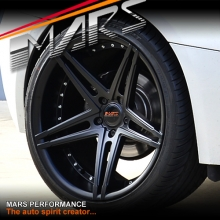 MARS MP-WR 20 inch Matt Black 5x120 Stag Concave Alloy Wheels Rims for BMW