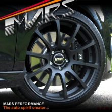 VMR V701 4 x 18 Inch Matt Black Concave Alloy Wheels Rims 5x112