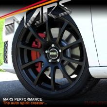VMR V701 4 x 19 Inch Matt Black Concave Alloy Wheels Rims 5x112