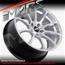 VMR V701 4 x 19 Inch Hyper Silver Concave Alloy Wheels Rims 5x112