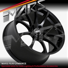VMR V701 4 x 18  Inch Matt Black Concave Alloy Wheels Rims 5x120