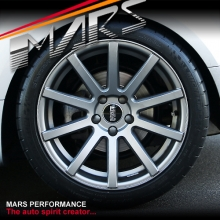 VMR V702 4 x 19 Inch Matt Gunmetal Alloy Wheels Rims 5x112