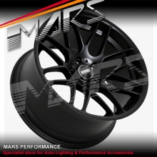 VMR V703 VB3 4 x 19 Inch Matt Black Concave Alloy Wheels CSL M3 Rims 5x120