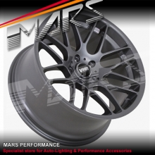 VMR V703 VB3 4 x 19 Inch Gun Metal Concave Alloy Wheels CSL M3 Rims 5x120