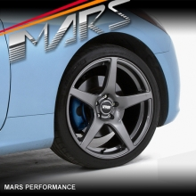 VMR V705 4 x 19  Inch Gun Metal Concave Alloy Wheels Rims 5x114.3