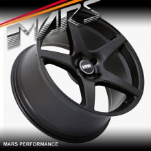 VMR V705 4 x 19  Inch Matt Black Concave Alloy Wheels Rims 5x114.3