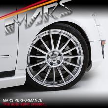 VMR V709 4 x 19 Inch Hyper SIlver Concave Alloy Wheels Rims 5x112