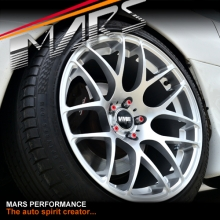 VMR V710 4 x 19  Inch Hype Silver Stag Concave Alloy Wheels Rims 5x120