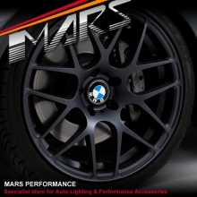 VMR V710 4 x 19  Inch Matt Black Stag Concave Alloy Wheels Rims 5x120