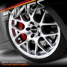 VMR V710 4 x 18  Inch Hyper Silver Stag Concave Alloy Wheels Rims 5x120