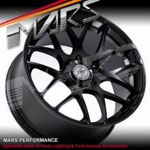 VMR V710 4 x 18  Inch Matt Black Stag Concave Alloy Wheels Rims 5x120
