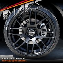 VMR V718 4 x 19 Inch Matt Black Concave Alloy Wheels Rims 5x112