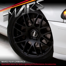 VMR V718 4 x 18 Inch Matt Black Concave Alloy Wheels Rims 5x120