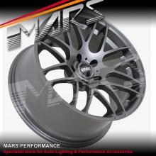 VMR V718 4 x 19 Inch Gun Metal Concave Alloy Wheels Rims 5x112