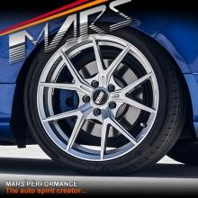 VMR V804 Flow-Formed 18 Inch Hyper Silver Concave Alloy Wheels Rims 5x120