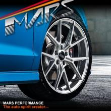 VMR V804 Flow-Formed 19 Inch Hyper Silver Stag Concave Alloy Wheels Rims 5x112