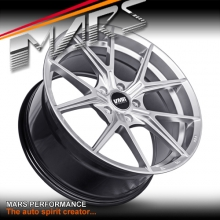 VMR V804 Flow-Formed 19 Inch Hyper Silver Stag Concave Alloy Wheels Rims 5x120
