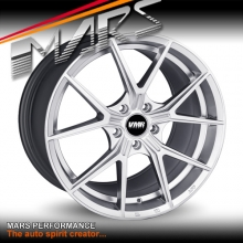 VMR V804 Flow-Formed 19 Inch Hyper Silver Stag Concave Alloy Wheels Rims 5x114.3