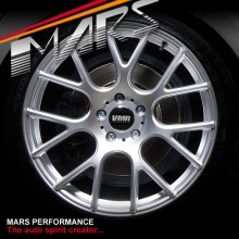 VMR V810 4 x 18 Inch Hype Silver Flow Formed Alloy Wheels Rims 5x112