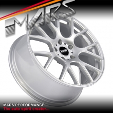 VMR V810 4 x 18 Inch Hype Silver Flow Formed Alloy Wheels Rims 5x120