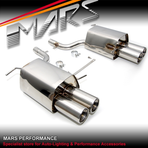 MARS Dual Outlet Twin Muffler Exhaust for Mercedes-Benz SLK