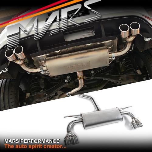 Performance Sport Exhaust For Vw Golf Vii R: MARS R-20 Style Full Stainless Exhaust Muffler For VW