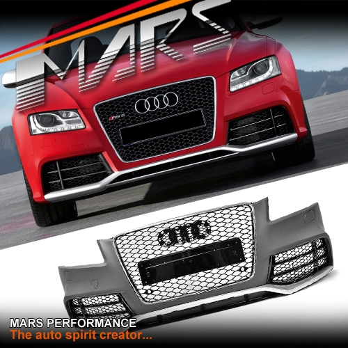 Lexus Diplomatic Sales: RS5 Style Front Bumper Bar For AUDI A5 8T 08-12 2 Doors
