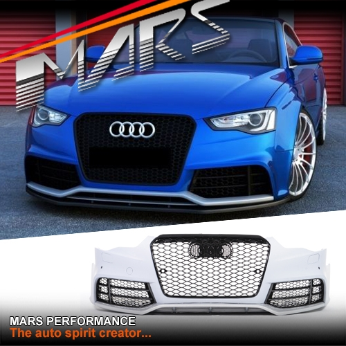 Lexus Diplomatic Sales: RS5 Style Front Bumper Bar For AUDI A5 8T 13-16 2 Doors