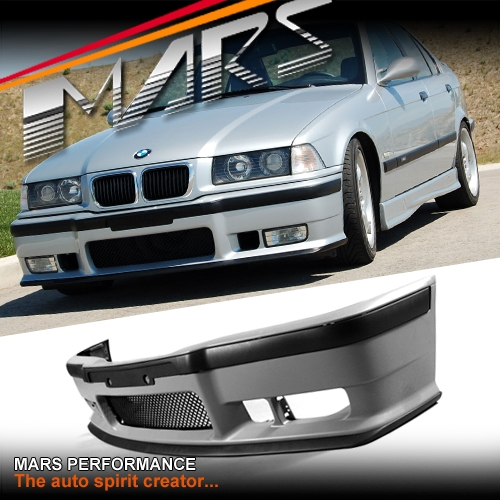 M3 Style Front Bumper Bar For Bmw E36 Sedan Coupe Convertible