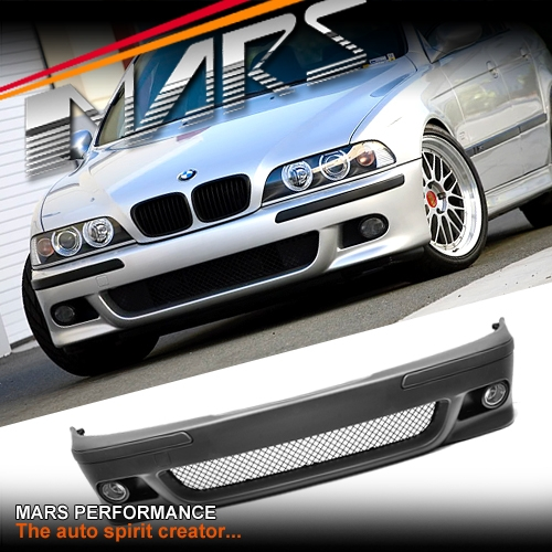 m5 style front bumper bar for bmw e39 sedan wagon 95 03 mars performance. Black Bedroom Furniture Sets. Home Design Ideas