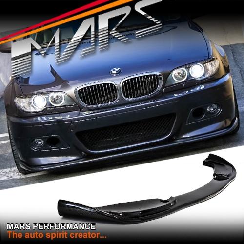 Hamann Style Carbon Lip Spoiler For Mars Bmw E46 M3 Style Front