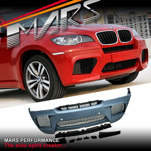 Bmw X6m Horsepower: X6M Style Front Bumper Bar For BMW E71 X6 08-12 30i 35i