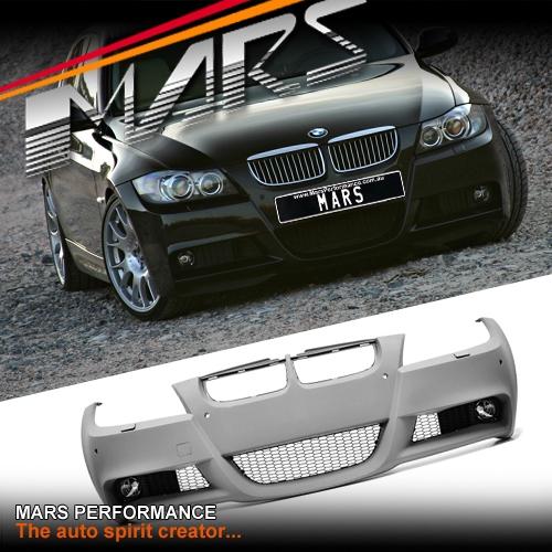 M Tech Sports Style Front Bumper Bar For BMW E90 E91 05-08