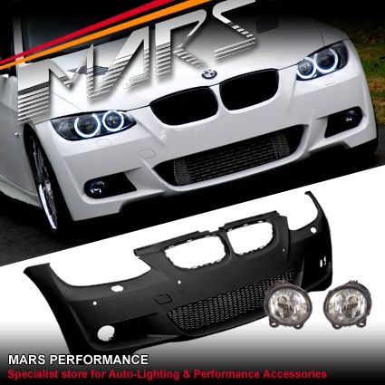 3c916f76860a M Tech M Sports Style front bumper bar for BMW E92 Coupe   E93 Convertible  06-09 Real Polypropylene material! The same material used in almost all  factory ...