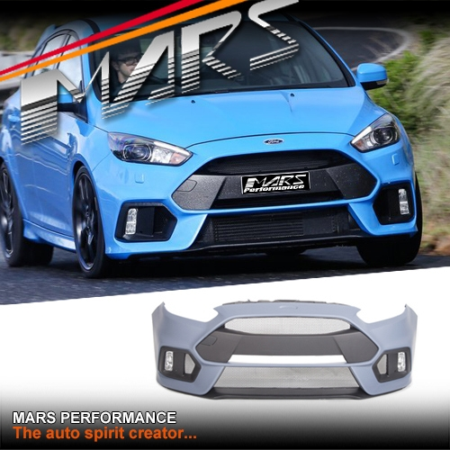 Rs Style Front Bumper Bar With Grill Amp Fog Lights For Ford